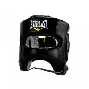 Боксерский шлем с бампером Everlast Elite, Красный Everlast