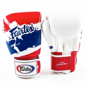 Тренировочные перчатки на липучке Fairtex