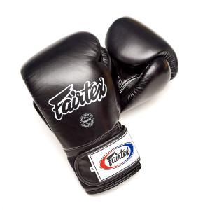 Перчатки для кикбоксинга на липучке Fairtex, 10oz Fairtex